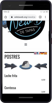 New D De Tapas